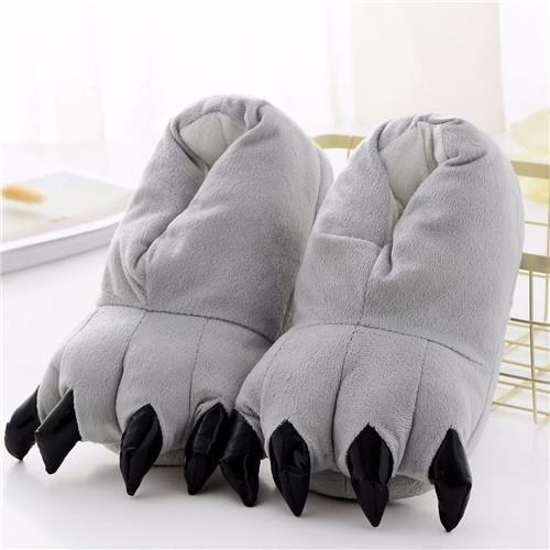 Chaussons Animaux - Chaussons Animaux Gris