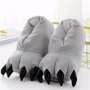 Chaussons gris