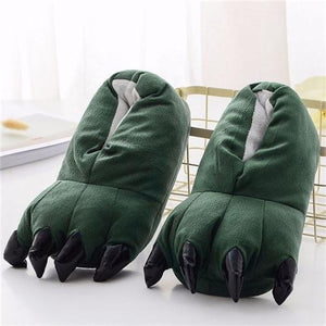 Chaussons Animaux - Chaussons Animaux Vert