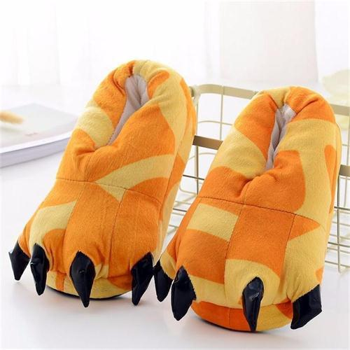 Chaussons Animaux - Chaussons Girafe