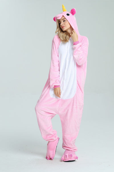 Pyjama Licorne Rose face