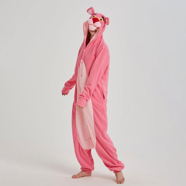 pyjama kigurumi panthere rose adulte