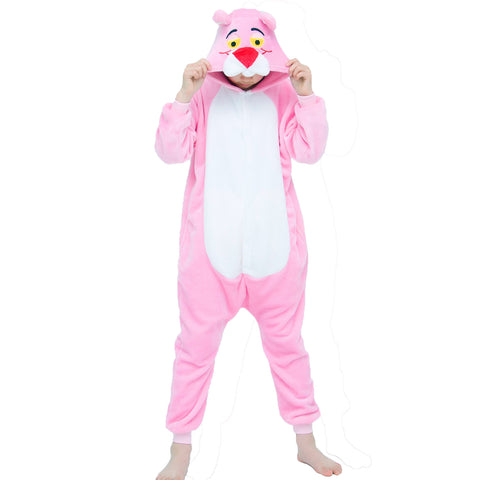 kigurumi panthere rose enfant