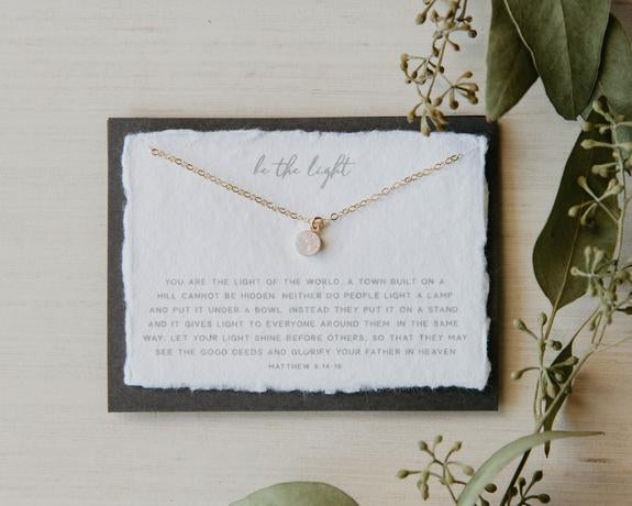 Be the Light - necklace