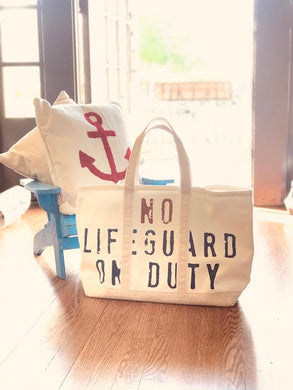 Canvas Boat Tote - ASSORTED
