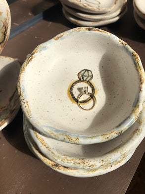 Etta B - Spring Collection:  With this RING DISH