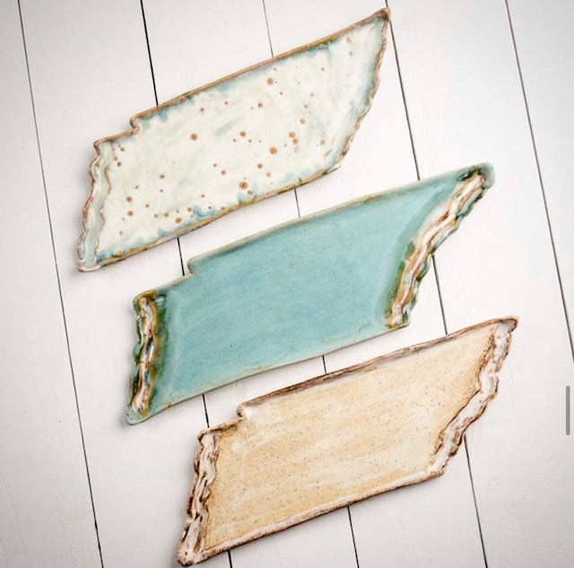 Etta B - Everyday Collection:  MED Tennessee platter