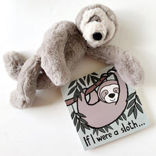 "Load image into Gallery viewer, Jellycat - ""If I Were a Sloth"" book"