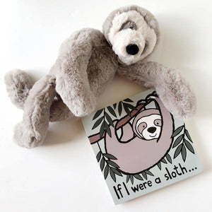 "Jellycat - ""If I Were a Sloth"" book"