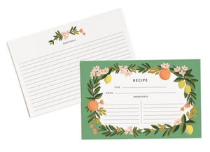 Rifle Paper Co- Recipe Cards