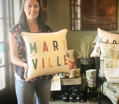 MARYVILLE multi-color pillow