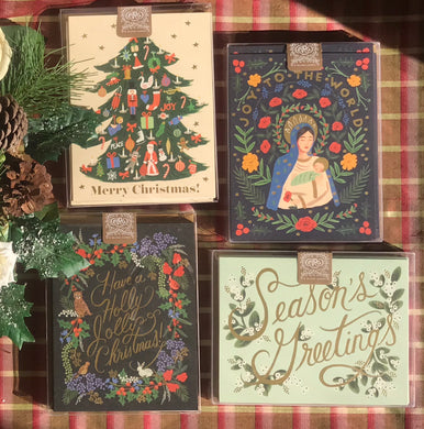 Rifle Paper Co - CHRISTMAS boxed card set