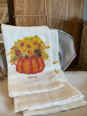 Fall Blessings - tea towel
