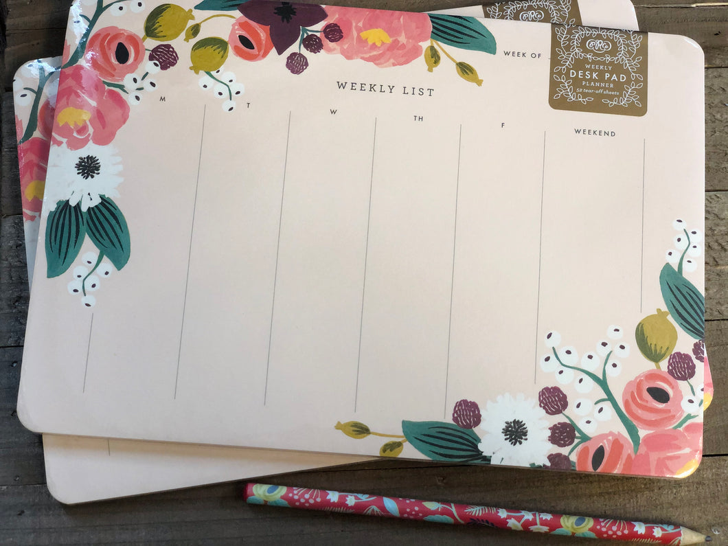 Rifle Paper Co - Weekly Desk Pad