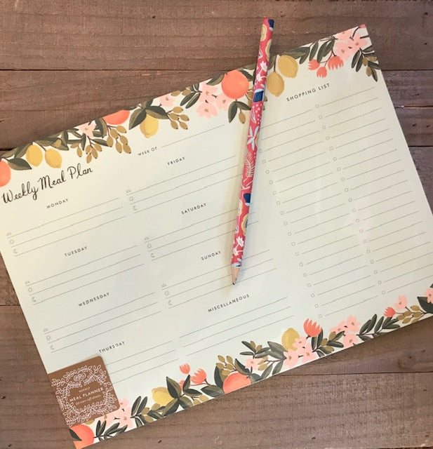 Rifle Paper Co- Weekly Meal Planner