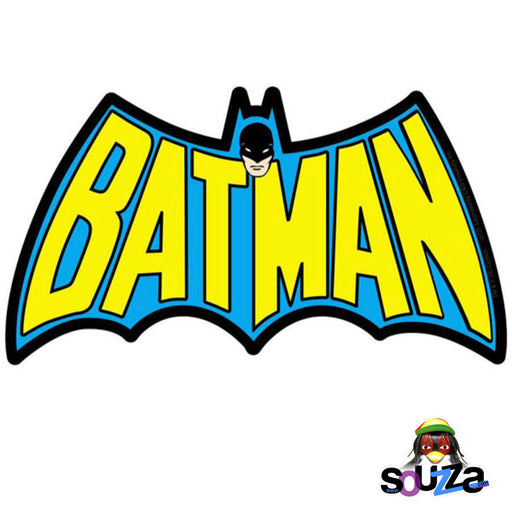 "Batman Retro Logo Die-cut Sticker - 6"" x 3.5"""
