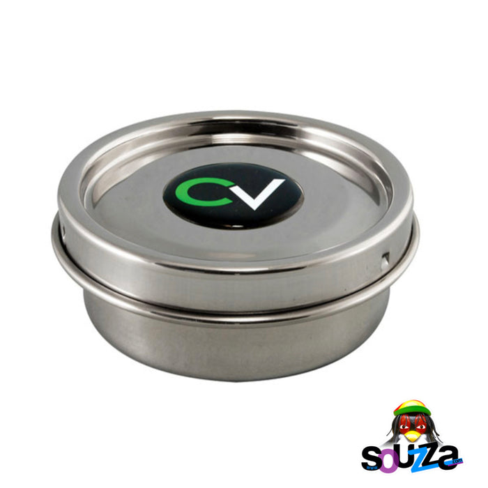"CVault Storage Container - X Small – 3.5"" x 1.25"", 0.1 Liters, Holds 4-7 grams"