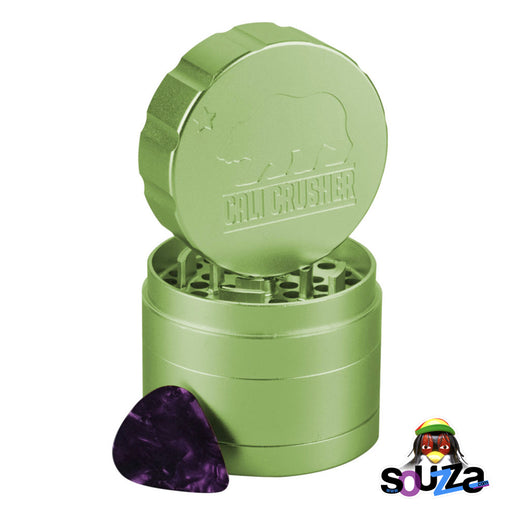 "Cali Crusher 2.0 Standard 4-Piece Grinder 2.35"" - Multiple Colors"