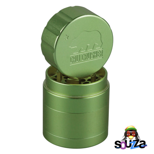 "Cali Crusher 2.0 Pocket Grinder 1.85"" - Green"