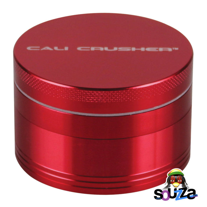 "Cali Crusher O.G. 4-Piece Grinder 2.5"" - Red"