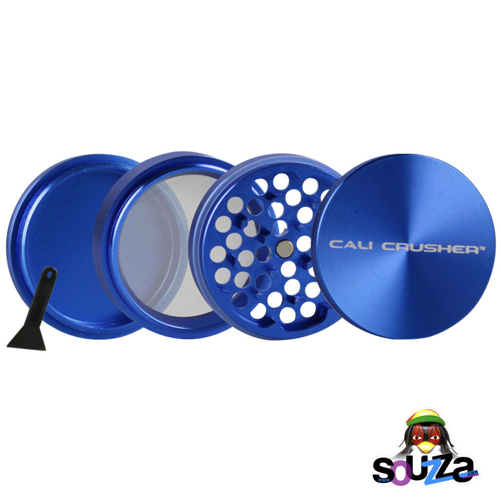 "Cali Crusher O.G. 4-Piece Grinder 2.5"" - Blue Open"