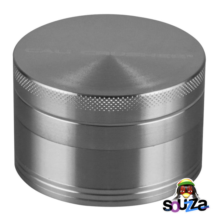 "Cali Crusher O.G. 4-Piece Grinder 2.5"" - Silver"