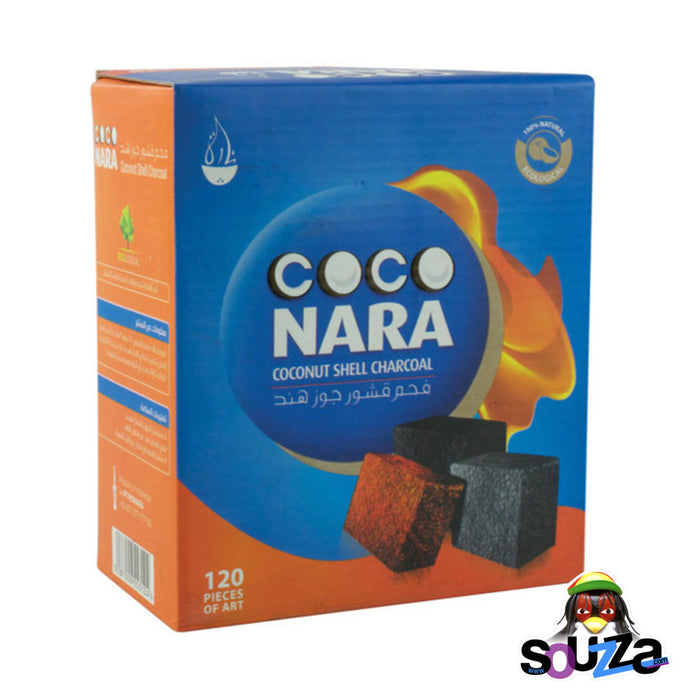 Coco Nara Hookah Charcoal - 120 piece box