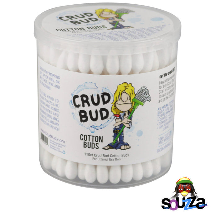 Crud Bud Cotton Buds - 110 count