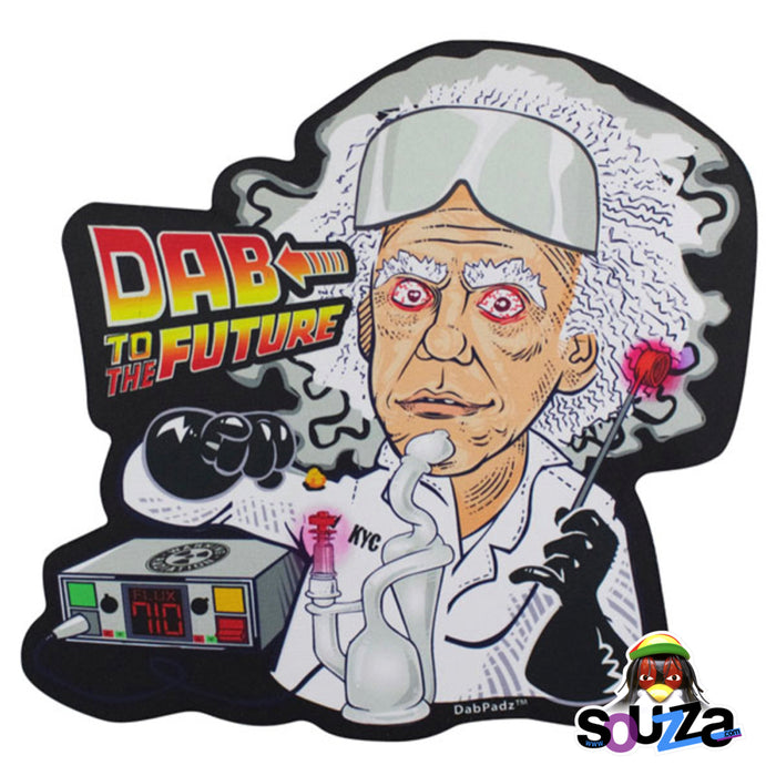 DabPadz Dab to the Future Die Cut Dab Mat