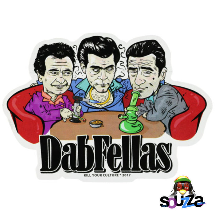 "Dabfellas Vinyl Sticker - 3.5""x5"""