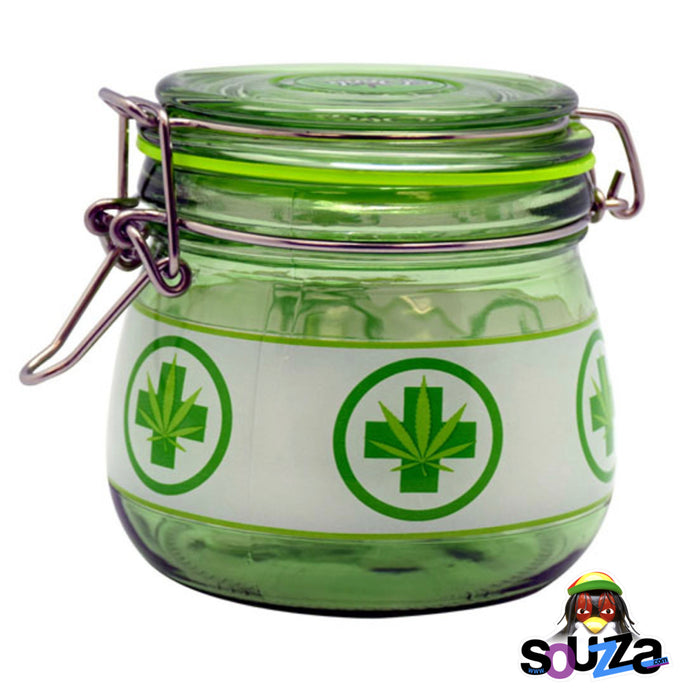 Dank Tank Glass Large Herb Storage Jar - Multiple Styles
