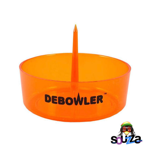 Transparent Orange Debowler Ashtray
