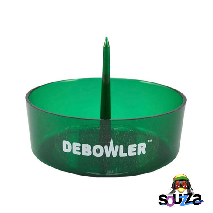 Transparent Green Debowler Ashtray