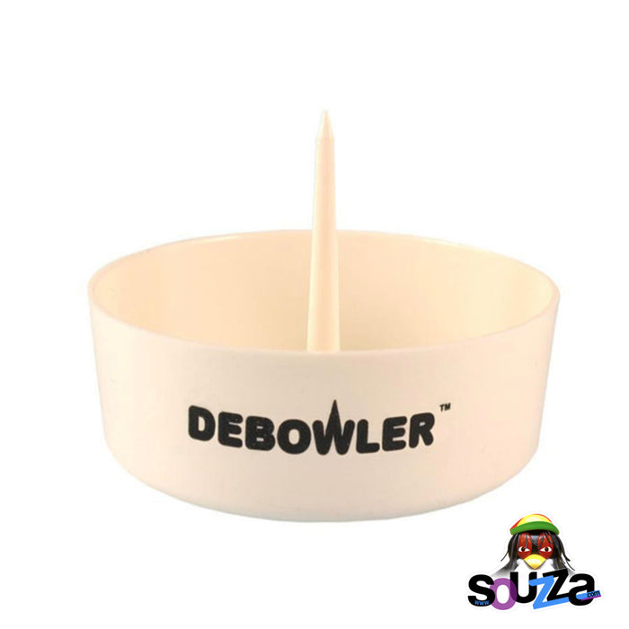 White Debowler Ashtray