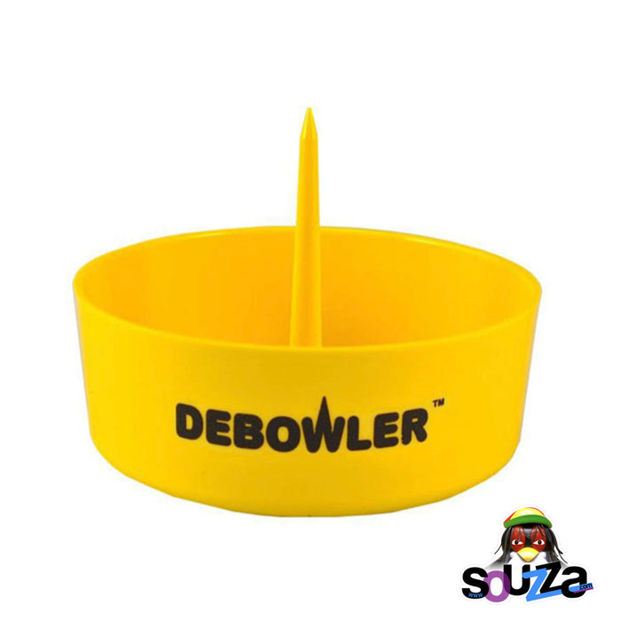 Yellow Debowler Ashtray