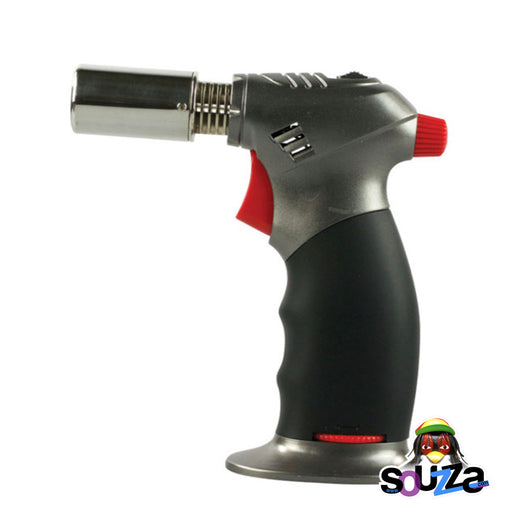 Dual Flame Butane Torch Lighter - 5.5""