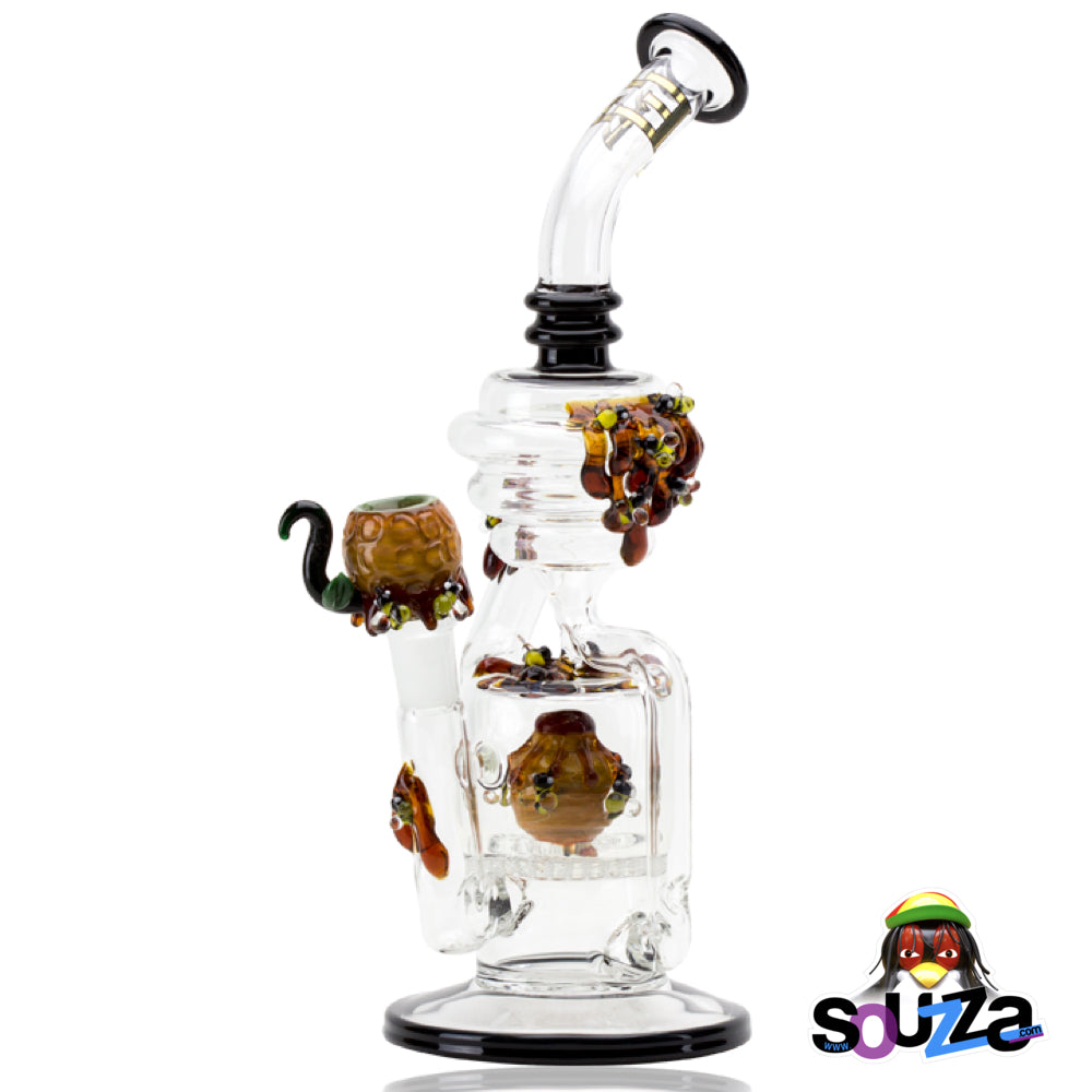 Empire Glassworks Beehive. Recycler Kit Flagship Water Pipe