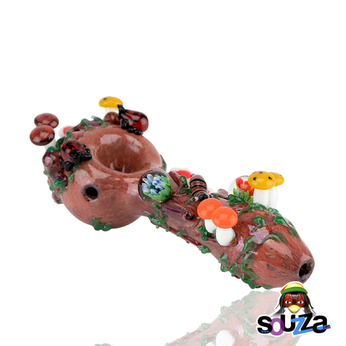 Empire Glassworks Bug's Life Hand Pipe Mouthpiece View