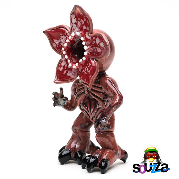 Empire Glassworks Stranger Monster Hand Pipe Upright Side View