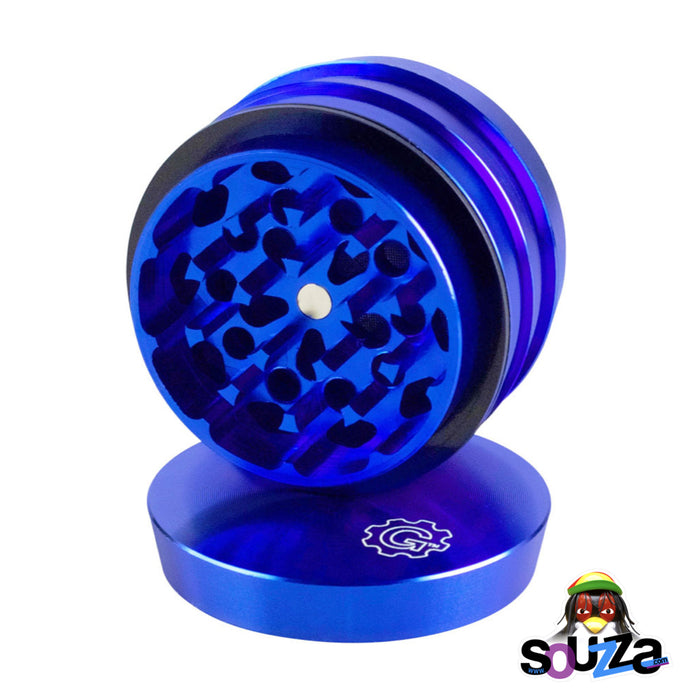"Grindhouse 4-Piece Grinder 2"" - Multiple Colors - Blue"