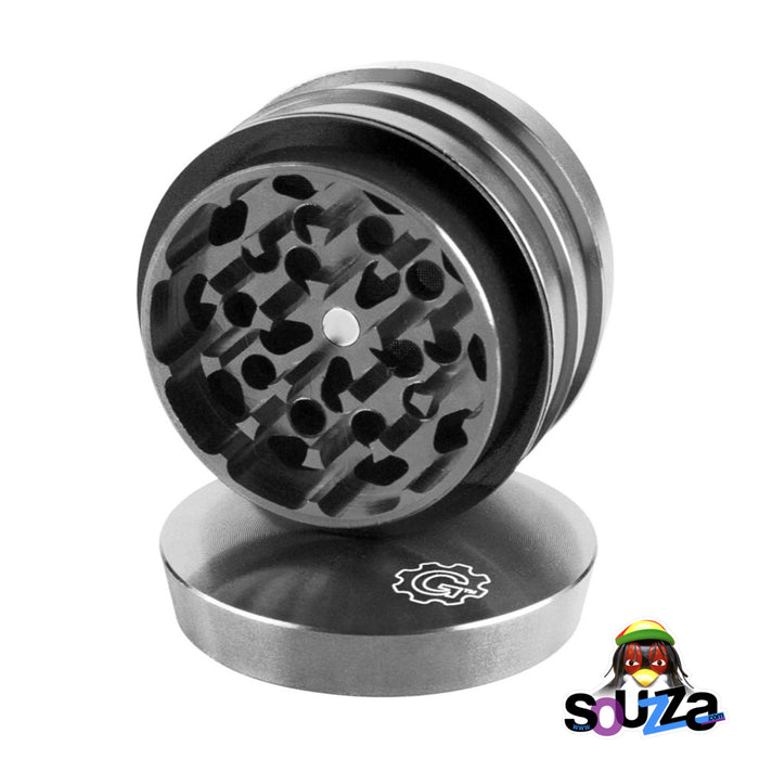 "Grindhouse 4-Piece Grinder 2"" - Multiple Colors - Silver"