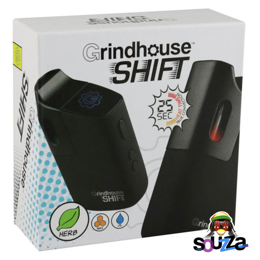 Grindhouse Shift Dry Herb Vaporizer box