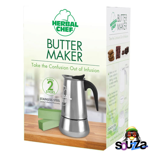 "Herbal Chef Butter Maker - 8"" / 2 Stick"
