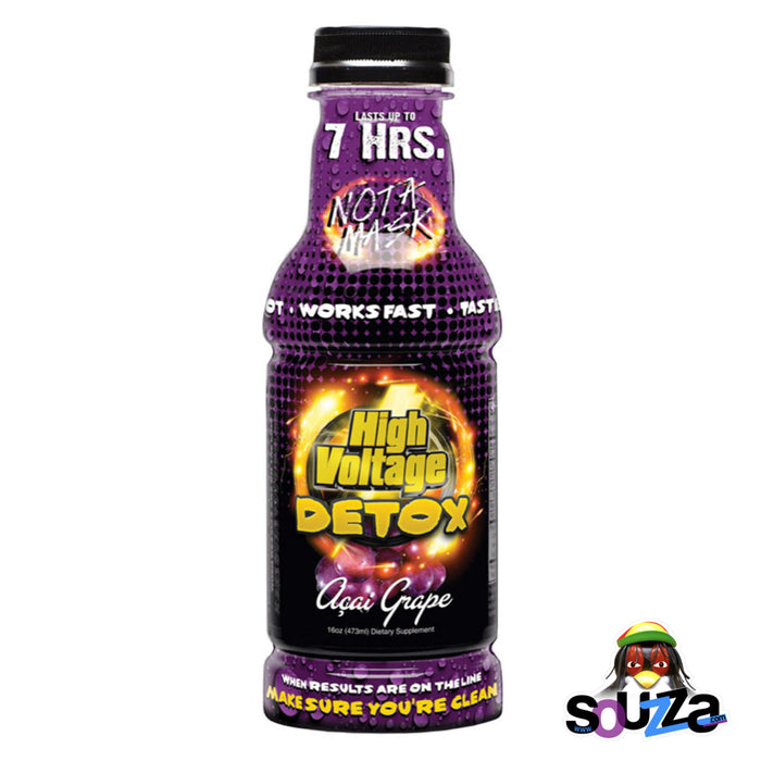 Acai Grape High Voltage 16oz Detox Drinks