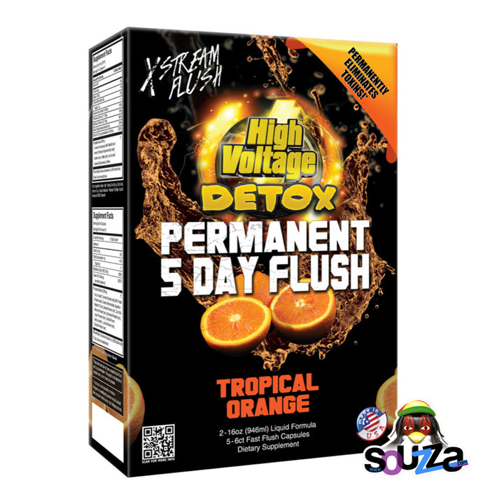 High Voltage Detox 5 Day Permanent Flush - Tropical Orange