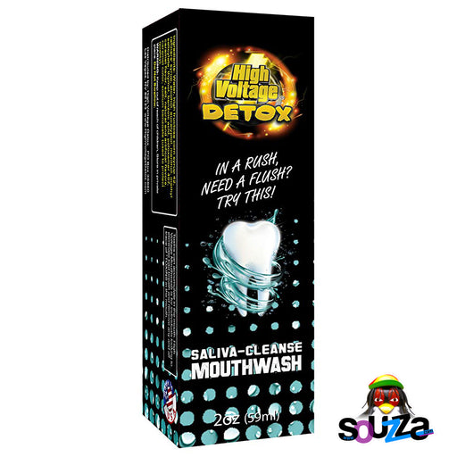High Voltage Detox Saliva Cleanse Mouthwash Box View
