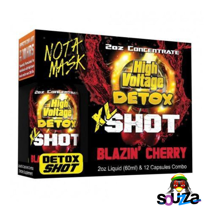 High Voltage XL Detox Shot - Blazin' Cherry