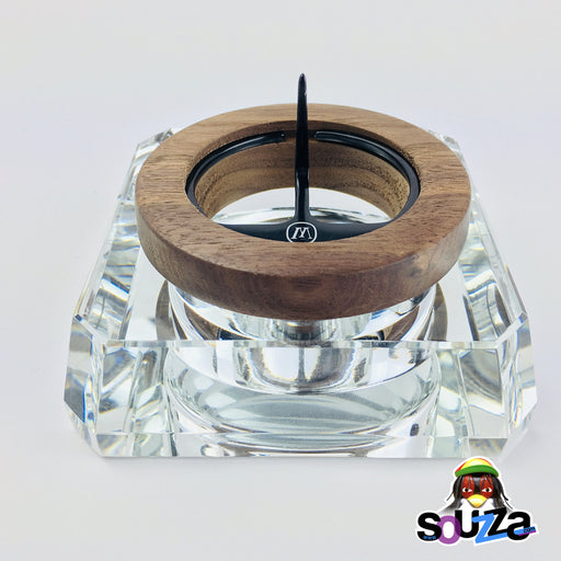 MARLEY NATURAL™ Crystal Ashtray Front View