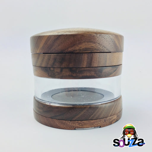 MARLEY NATURAL™ Large Walnut Grinder Front View