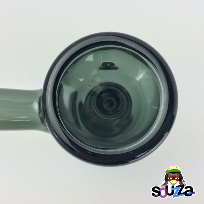 MARLEY NATURAL™  Smoked Glass Bubbler Up Close Bowl Shot